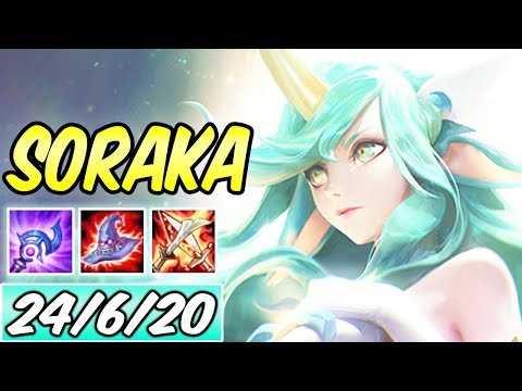 S+ FULL AP BURST SORAKA MID 40% CDR | New Build & Runes | Star Guardian Soraka