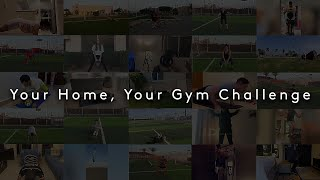 Your Home, Your Gym Challenge