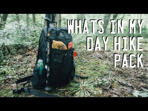 Whats In My Day Hike Bag