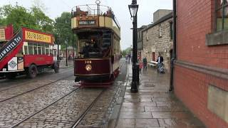 National Tramway Museum, Crich, London Event 2015