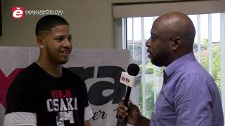 Entrevista ku pelotero Ray-Jackson Chirino