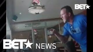 Скачать White Man Threatens To Beat Black Woman In Front Of Her Kids At Restaurant