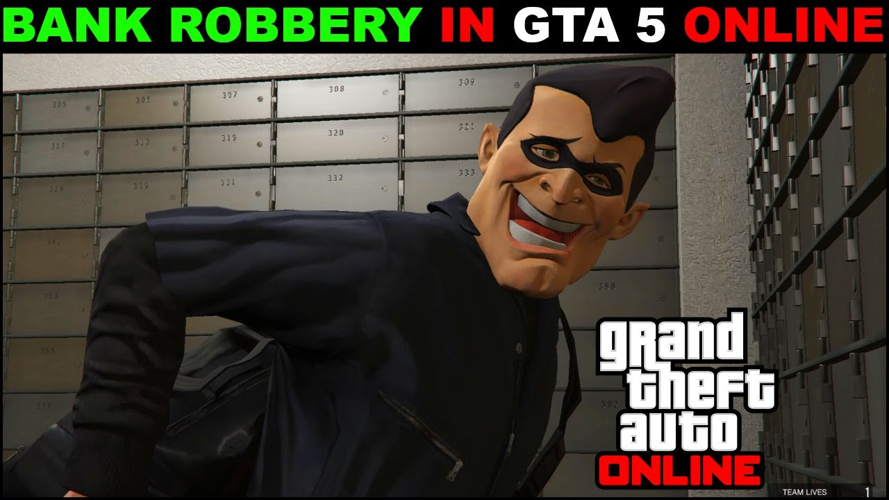 GTA 5 ONLINE Bank Heist For The FIRST TIME 2020 | Grand Theft Auto Online Bank Heist ||