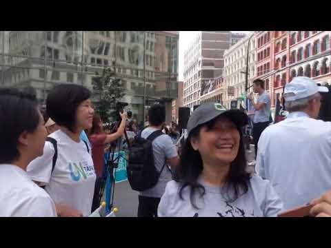陈破空:纽约大集会:撑香港,护台湾,扞卫普世价值,让台湾加入联合国!