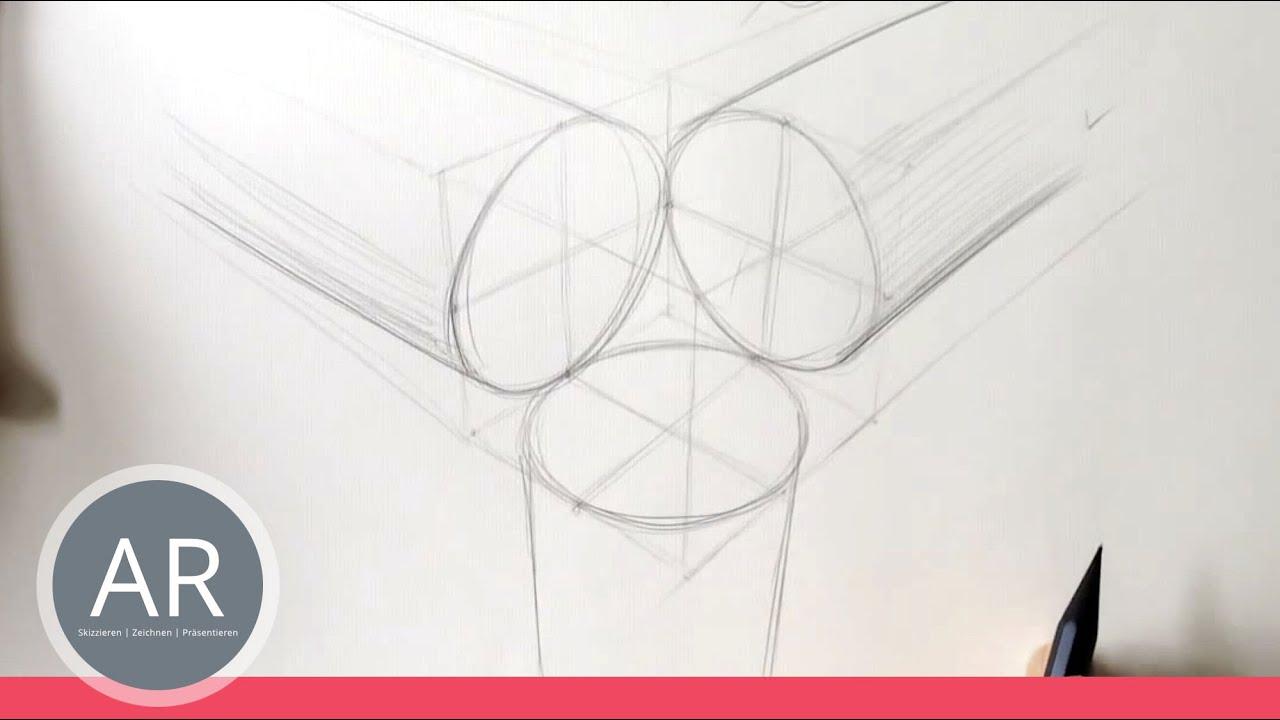 Zeichnen Lernen Akadmie Ruhr Tutorials Perfekter Kreis In