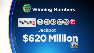 Winning numbers for $620m powerball jackpot selected