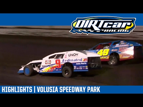 UMP Modifieds Volusia Speedway Park DIRTcar Nationals February 16, 2017 | HIGHLIGHTS