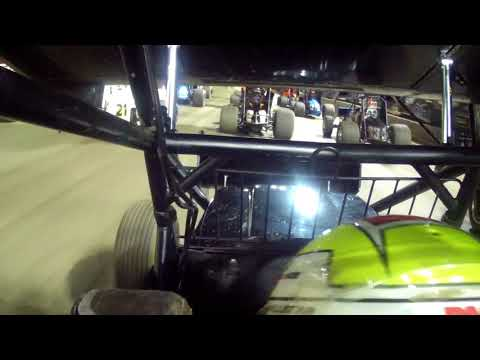 Cale Conley Volusia Speedway In car camera looking forward