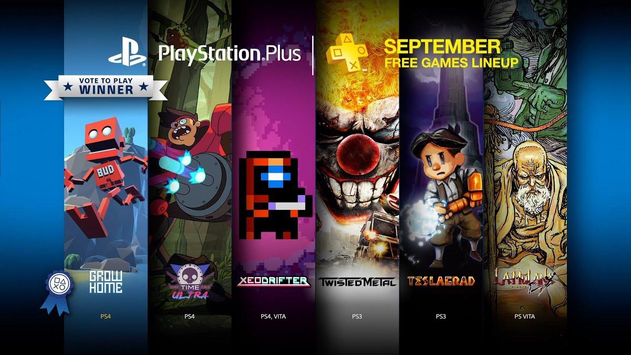 Playstation plus сентябрь 2016