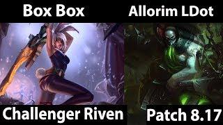 [ Box Box ] Riven vs Urgot [ Allorim LDot ] Top  - Box Box Riven Stream