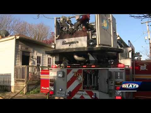 Woman in critical condition after house-fire rescue