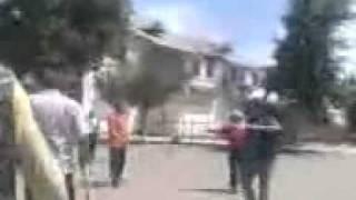 Вооруженные кыргызы в Джалал абаде 2