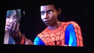 Spider man into the spider verse leap of faith scene