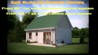 Self Build Prefab Home
