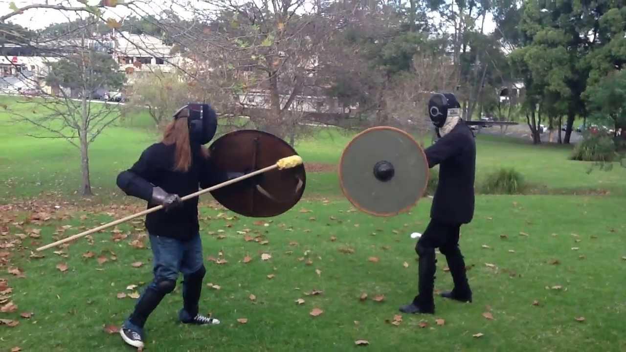 Viking age spear & shield vs sword & shield II