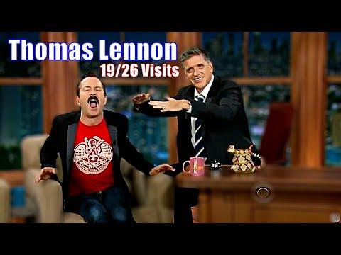 Thomas Lennon  One Of The Best Guests Ever  1926 Appearances In Chronological Order