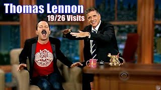 Thomas Lennon - One Of The Best Guests Ever - 19/26 Appearances In Chronological Order