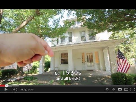 American Foursquare Style Historic Brick Home For Sale In