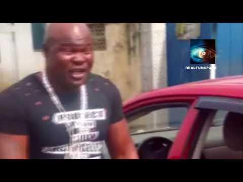 GHANAIAN BOXER AND MUSICIAN BUKUM BANKU DOING HIS THING