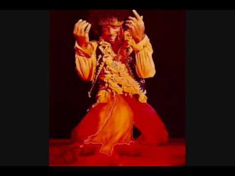 Jimi Hendrix Burns Guitar - YouTube