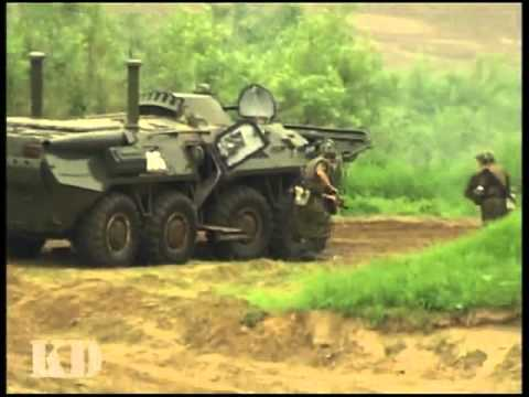 Russian Army - River Crossing Exercise
