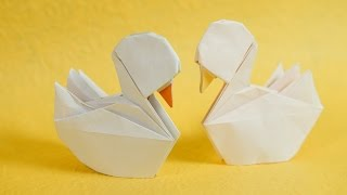 Origami Little Duck Tutorial (Henry Phạm)
