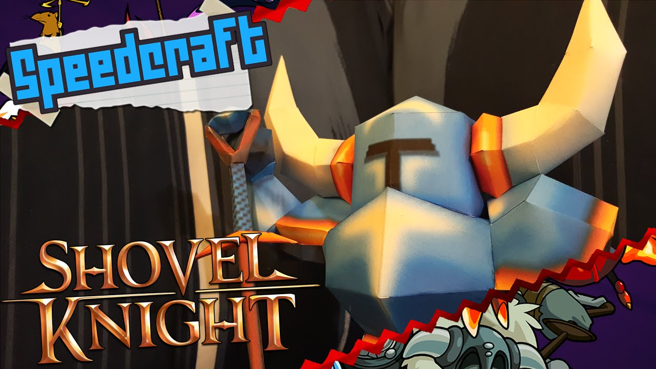 Papercraft Yacht Club Games Papercraft ~ Shovel Knight ~