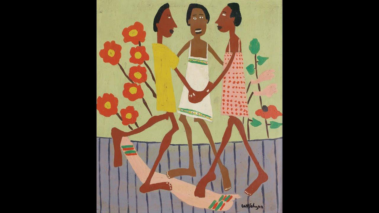 William H. Johnson: Ring Around the Rosie and Woman Ironing