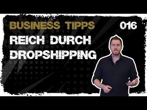 business tipps #016: Reich durch Dropshipping von regulärer Handelsware? Langfristig Irsinn!