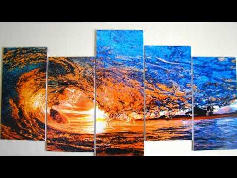 Алмазная вышивка. Энергия воды - Волна. Автор работы и музыки ИРИНА НАУМЕНКОВА