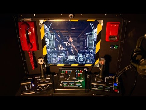 This is the best Steel Battalion cockpit. Ever.