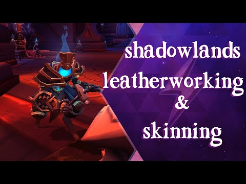 Shadowlands Professions Guide – Leatherworking and Skinning