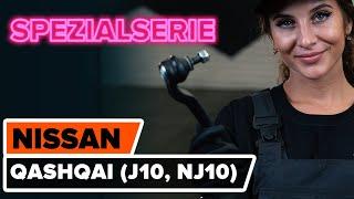 Wie NISSAN QASHQAI / QASHQAI +2 (J10, JJ10) Bremszangenhalter austauschen - Video-Tutorial