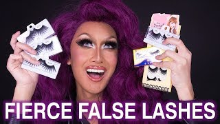 Quick Tip: Stacking and Applying False Eyelashes for DRAG!
