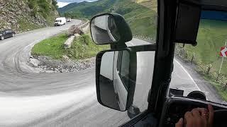 КРЕСТОВЫЙ ПЕРЕВАЛ — перевал на Военно-Грузинской дороге | ЧАСТЬ 2 СПУСК