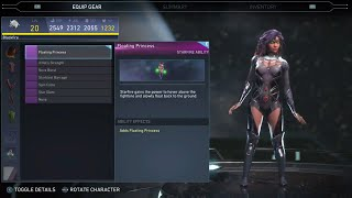 Injustice 2 -  Starfire  All Unlockable Abilities