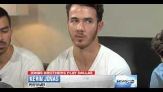 Jonas Brothers Interview on ABC News Dallas [7/8/2013]