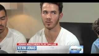 Jonas Brothers Interview on ABC News Dallas [7/8/2013]