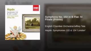 Symphony No. 102 in B Flat: IV. Finale (Presto)