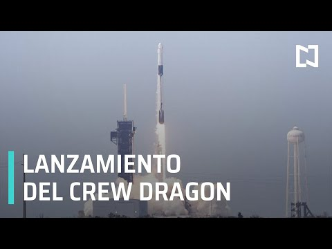 En Vivo: Lanzamiento SpaceX y NASA