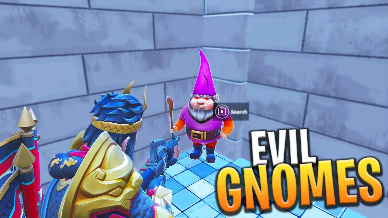 hidden gnome fortnite