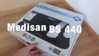 medisana bs 440 connect ko rperanalysewaage unboxing