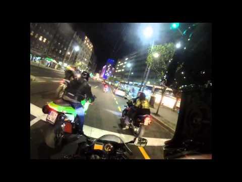 moto Night ride in Belgrade(turim stavim production) cbr,gsxr,zx10r,Agusta Brutale...