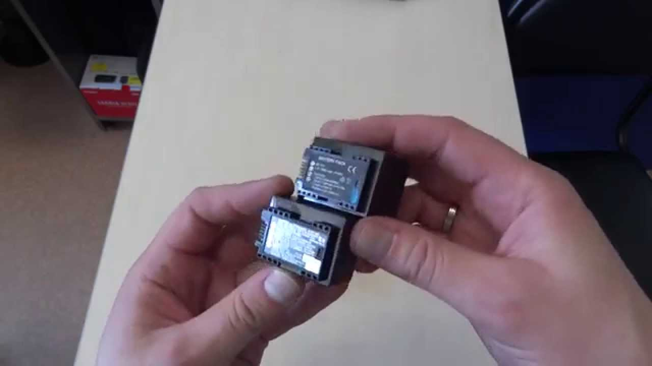 Посылка с Ali #283: Крутые аккумуляторы для видеокамеры Canon .