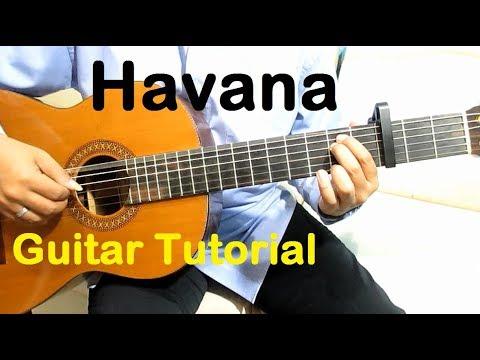Havana Guitar Tutorial - Guitar Lessons for Beginners