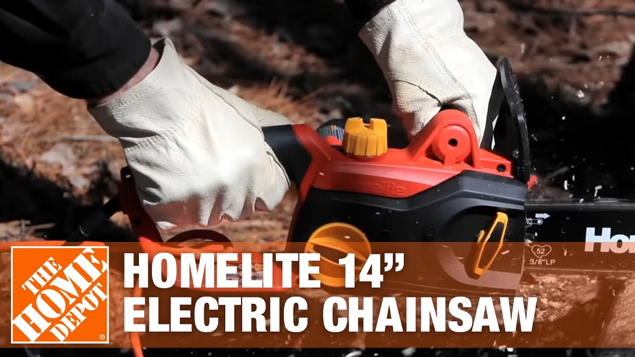 Homelite 14 electric chainsaw youtube greentooth Images