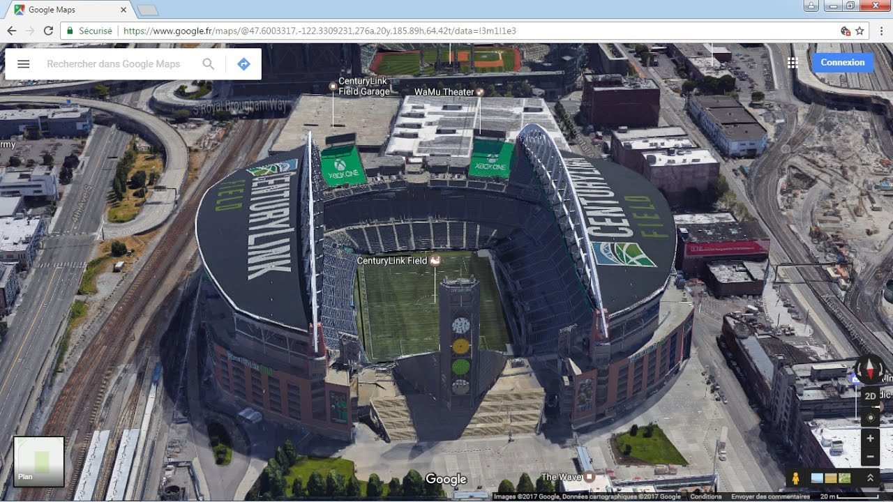Google maps 3D Seattle buildings on google maps aerial satellite view, google maps helicopter view, google earth live satellite view, google earth street view usa,