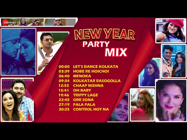 New Year Party Mix 2020 - Video Jukebox | Super Hit Bengali Songs Collection