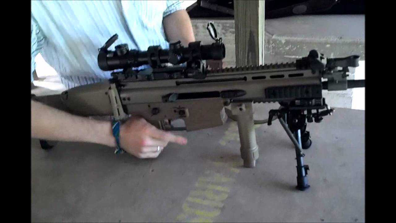 The FNH SCAR 17S with AAC Suppressor Returns - YouTube