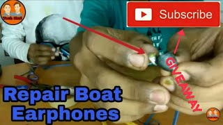 How to repair your boat earphones at home. Boat earphones repare. Broken boat earphones.